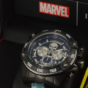 Invicta Marvel PUNISHER Speedway Viper Watch NEW